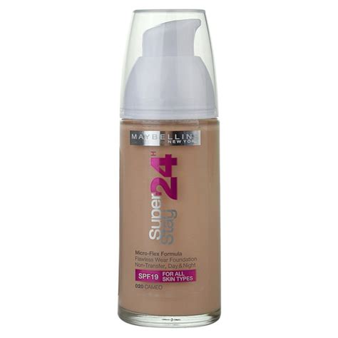 foundation color maybelline superstay 24 color liquid foundation notino co uk