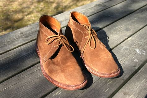 Clarks Chuka alden unlined chukka boots