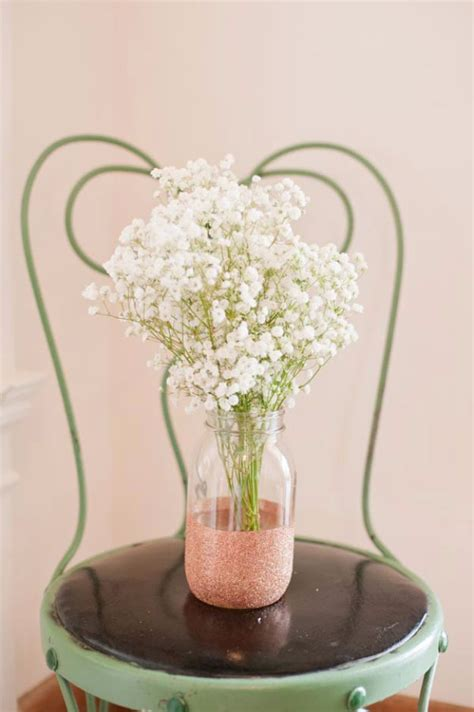 Glitter Sticks For Vases by 33 Best Diy Wedding Centerpieces You Can Make On A Budget