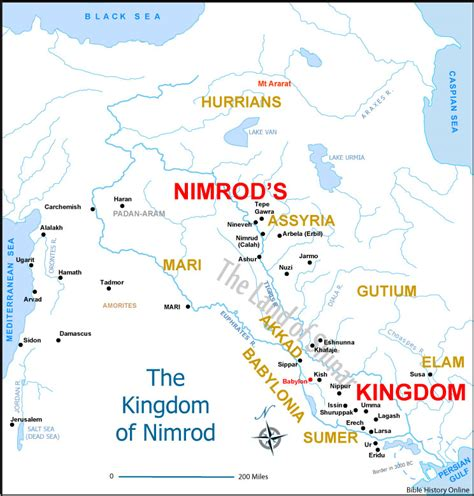 imagenes historicas maps nimrod in the bible map images and notes picture