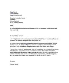 Mortgage Support Letter 35 Simple Hardship Letters Financial For Mortgage For Immigration