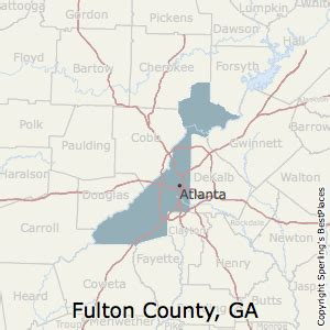 best places to live in fulton county