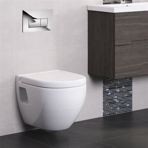 bathroom cisterns compact concealed wc cistern with wall hung frame modern