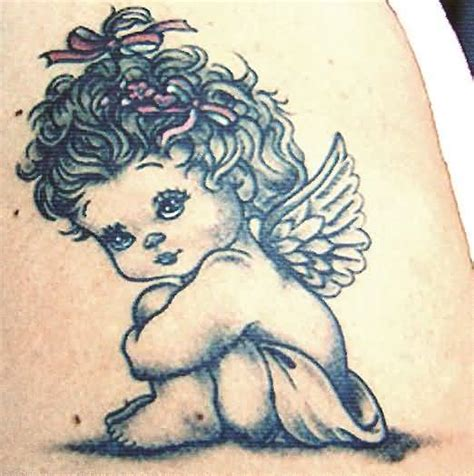 baby angel tattoo design baby ideas and baby designs page 4