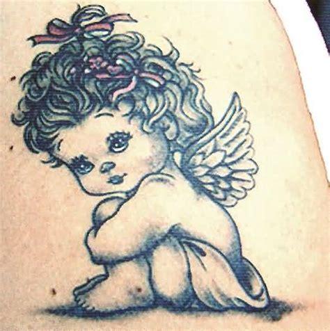 Pretty Angel  Tattoo Design   Tattooshunter.com