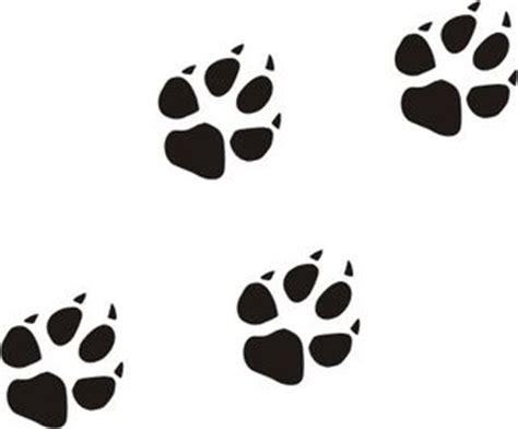 Wolfskin Aufkleber by Hundepfoten Wandtattoo 10 Er Set Wandaufkleber Tatzen