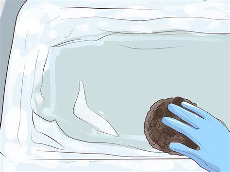 Badewanne Flecken Entfernen by Flecken In Der Badewanne Entfernen Wikihow