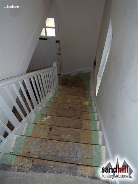 Staircase renovation in Eltham, South East London, SE9