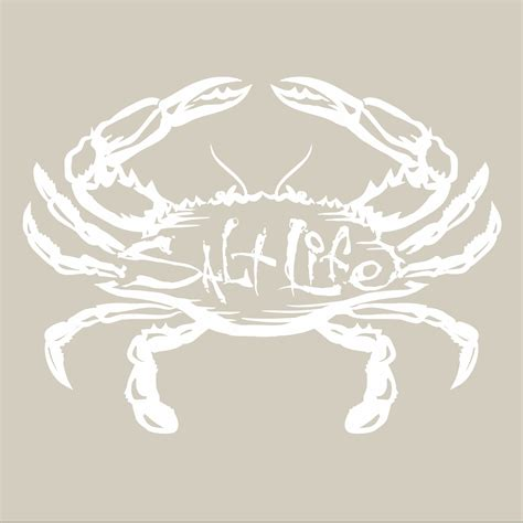 salt decal salt salty crab decal shopthedocks com