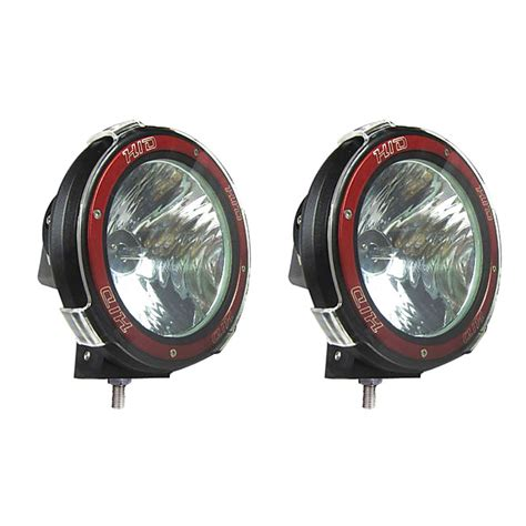 Hid Light Fixtures by Pair 7 Inches 4x4 Road 6000k 55w Xenon Hid Fog L