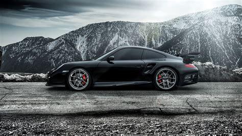 porsche supercar black 2015 porsche 911 carrera turbo black supercar 4k wide
