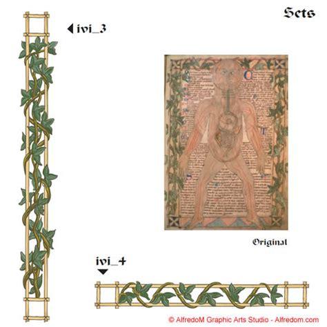 medieval  renaissance illuminated manuscripts borders