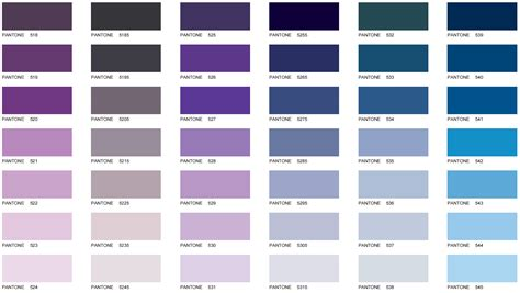 pantone color names pantone color chart galaxy business products