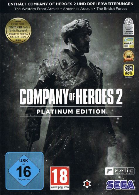 Cover Tank Platinum 2 company of heroes 2 platinum edition 2016 windows box cover mobygames