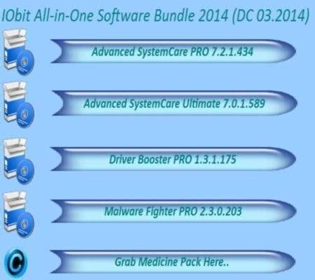 L Software Bundle by Iobit All In One Software Bundle 2014 Indir