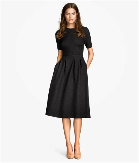 Vacia Simply Black S M Dress mode sty black midi dress finds