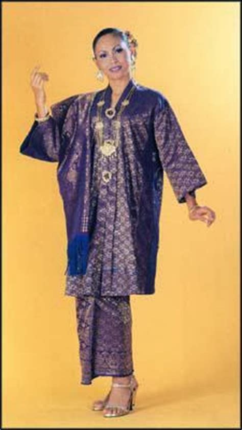 Kebaya Kurung Panjang bc101 computer application pakaian tradisional johor