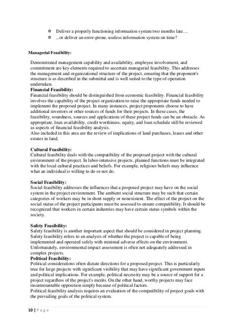 Huff Post Letter To My 29 Year Mba Students by Sle Contents Of A Completed Feasibility Study 18