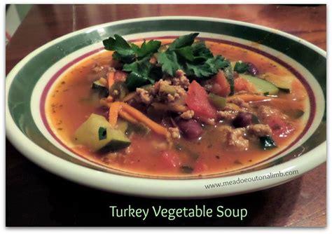 healthy turkey soup recipe turkey vegetable soup an easy healthy 21 day fix