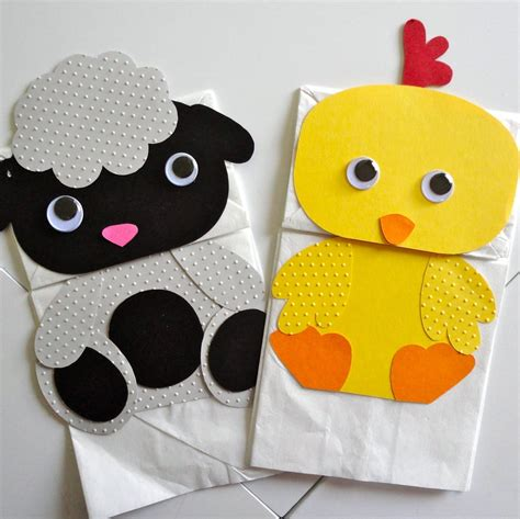 Paper Puppet Crafts - and paper bag puppets paper crafts