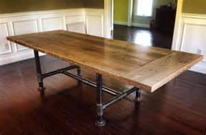 Custom Kitchen Table Handmade Kitchen Table By Reclaimed Custommade