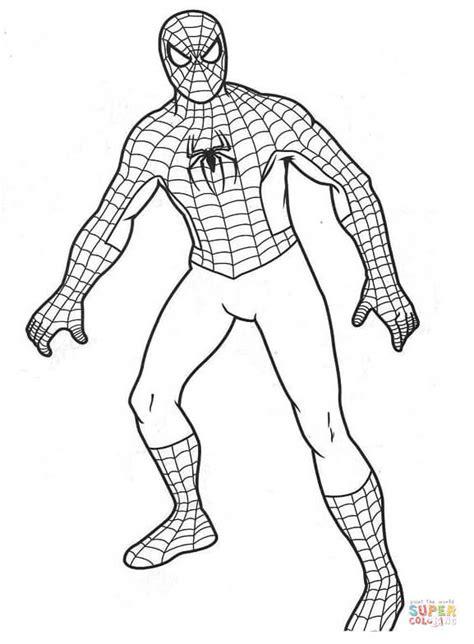Kolorowanka Spiderman Kolorowanki Dla Dzieci Do Druku