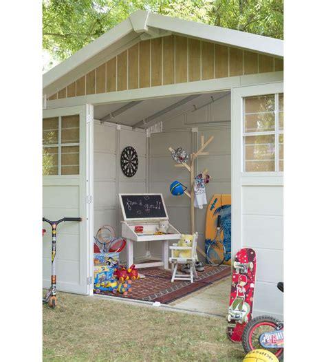 casette da giardino in pvc casetta da giardino quot sherwood deco quot in pvc effetto legno