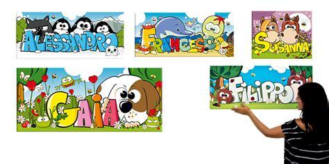 quadri bambini quadri per bambini col nome e decorazioni per la cameretta