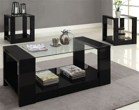 three piece living room table set mason 3 piece table set modern living room columbus