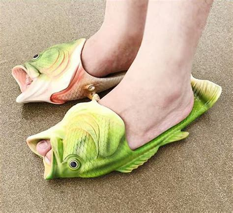 fish slippers design swan taable note