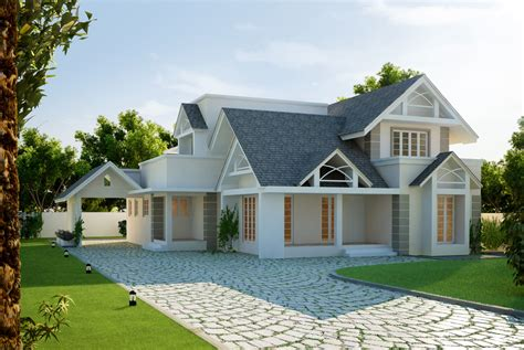 European Style House | cgarchitect professional 3d architectural visualization