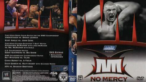 undertaker vs brock lesnar biker chain match wwe no image gallery no mercy 2003
