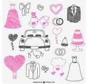 Dibujitos De Boda Color Rosa Y Negro  Descargar