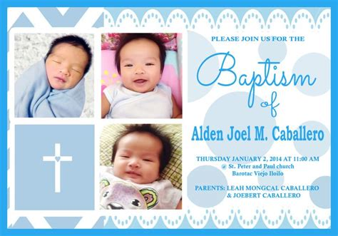 tarpaulin layout design for christening 20 best invitations tarpaulin design images on pinterest