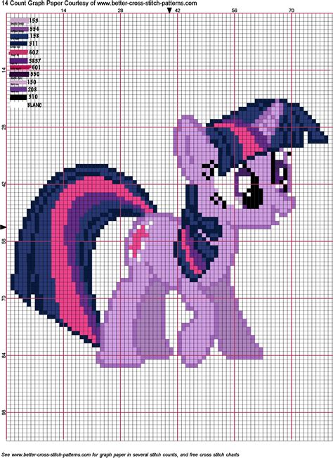 cross pattern png twilight sparkle cross stitch pattern by agentliri on