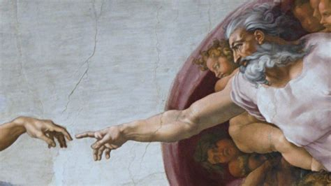 Sistine Chapel Ceiling Adam And God by Genesis 1 1 3 The Creation Account And Hebrew Narrative