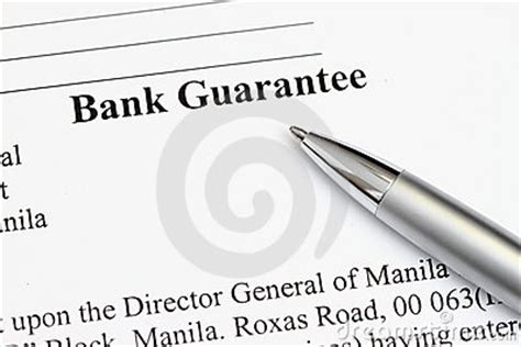 Bank Letter Of Credit Guarantee What Is A Bank Guarantee Bbci Finance
