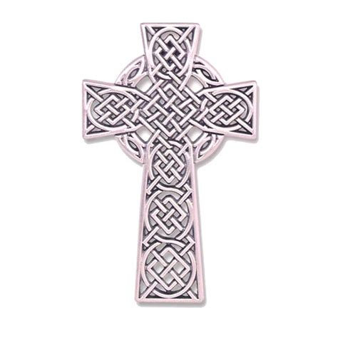 celtic knot wall cross 4 5 inch the catholic company