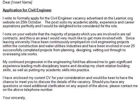 application letter civil engineering graduate civil engineer cover letter exle zach civil
