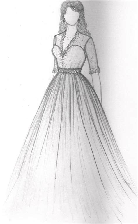 gowndesign gownsketch gowndrawing weddinggowndesign