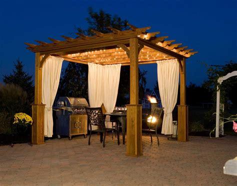 Outdoor Pergola Lights   interior decorating accessories