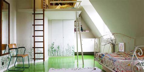 chambre d enfant design lit mezzanine pour chambre d enfant