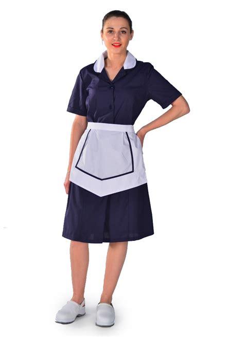 blouse femme de chambre hotellerie blouse femme de chambre 224 manches courtes bleu nuit carlton