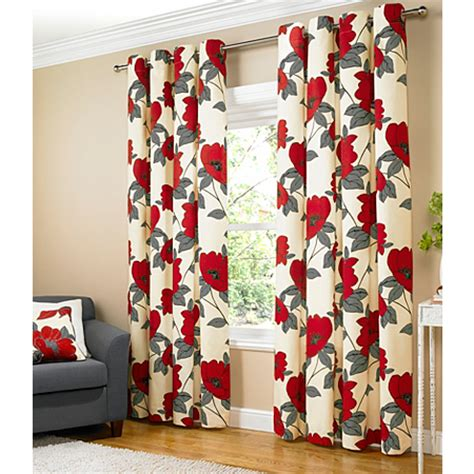 red print curtain panels great ranges of music video games baby products