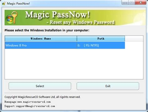 reset magic online password quickly reset windows 8 password instructions on how to