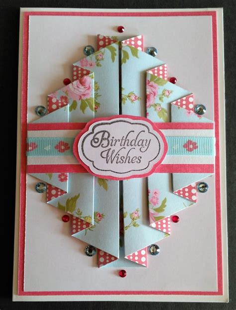 Make A Handmade Card - best 25 folded cards ideas on scrapbook cards