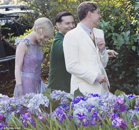 Oh Carey And Flowers by The Great Gatsby Leonardo Dicaprio Is Dashing While Carey