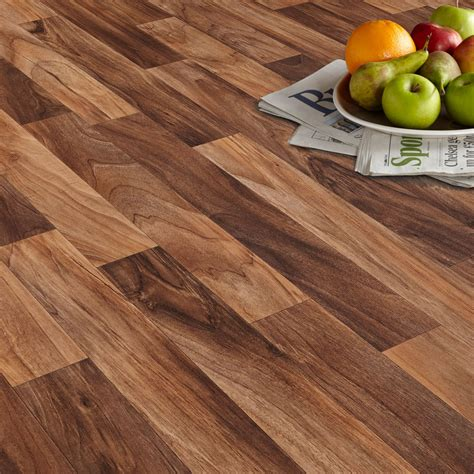 arezzo walnut effect matt vinyl flooring