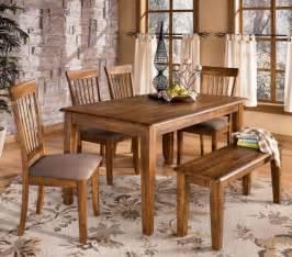 ashley furniture kitchen table set ashley d199 25 00 01 berringer 6 piece rectangular dining