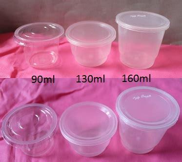 jual cup gelas puding tebal dengan tutup 130ml harga grosir murah grosir plastik
